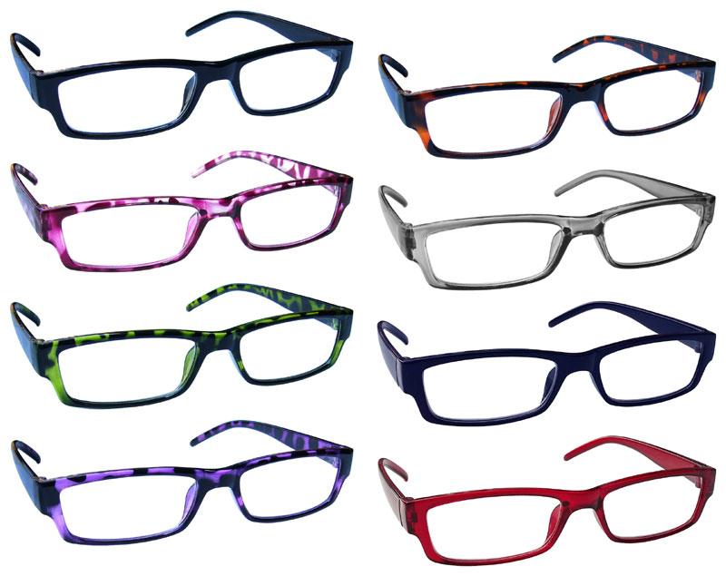 4a2de427af Reading Glasses Mens Womens Lightweight Designer Style UV Reader