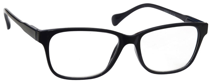Reading Glasses in Black by UV Reader