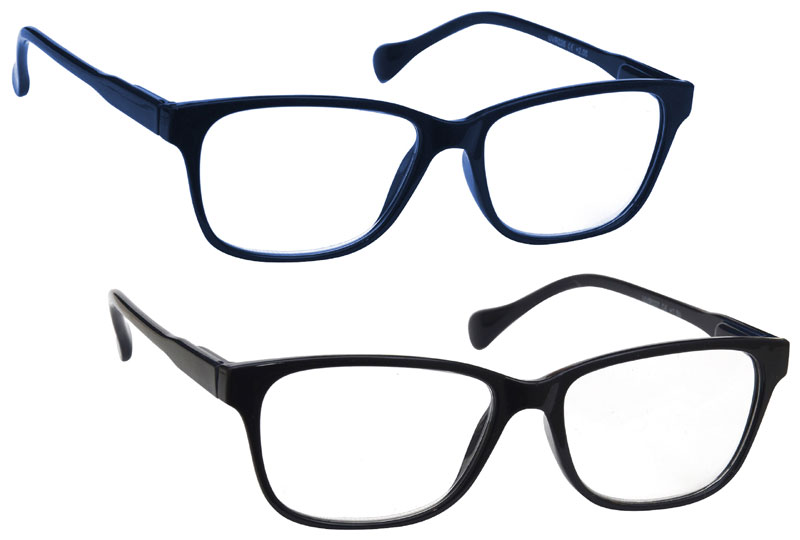 Reading Glasses in Navy Blue by UV Reader