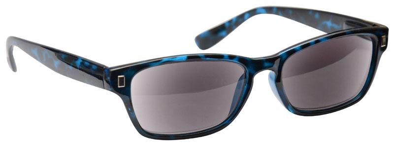 Sun Reader Reading Sunglasses in Blue Black by UV Reader