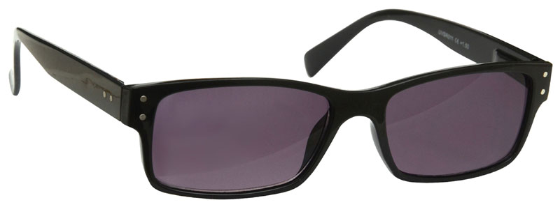 Sun Reader Reading Glasses in Black by UV Reader
