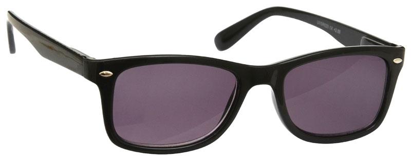 Sun Reader Reading Glasses in Black by UV Reader