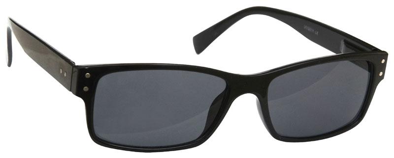 UV Reader Black Mens Womens UV400 Sunglasses UVS023 With Case