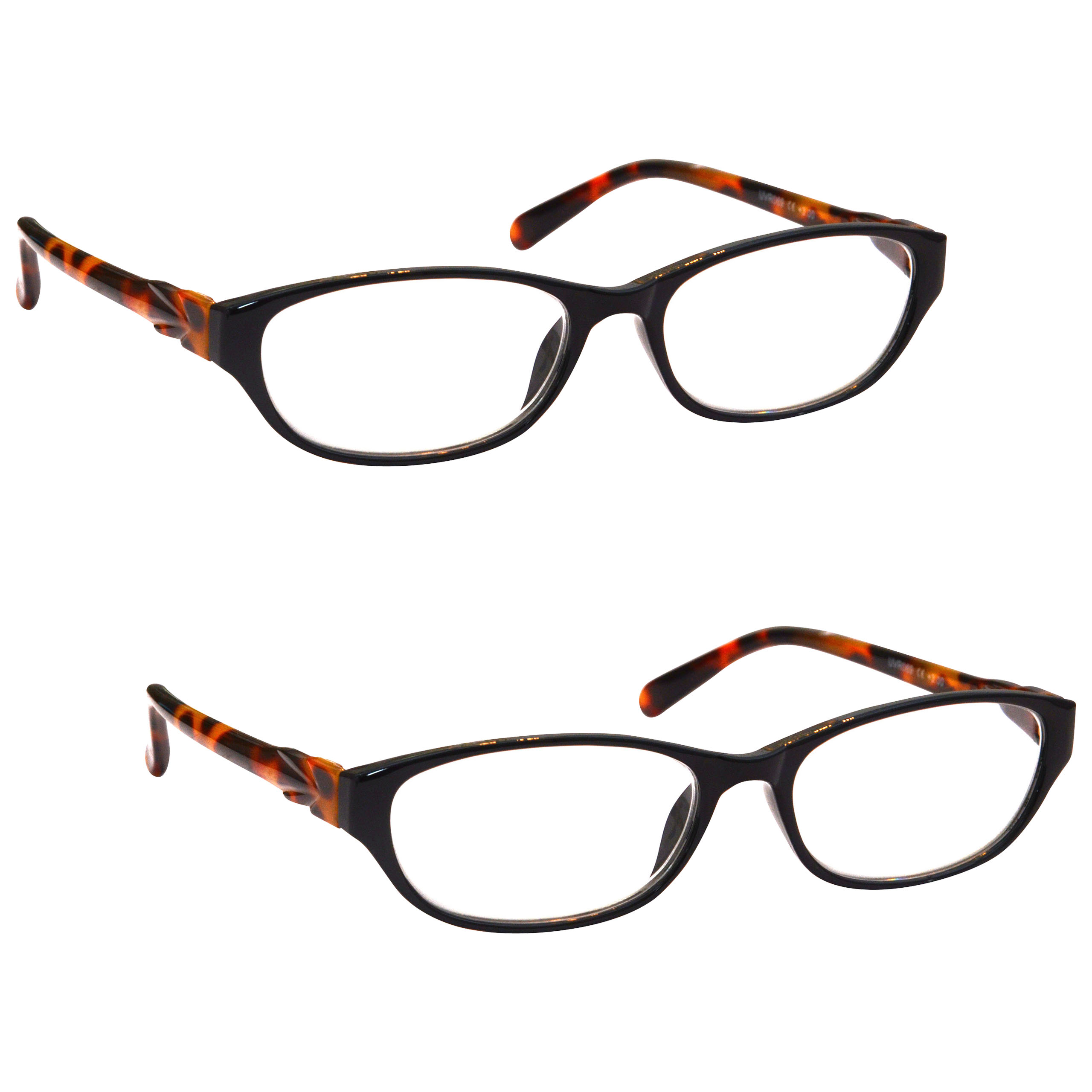 uv reader designer side arms reading glasses womens