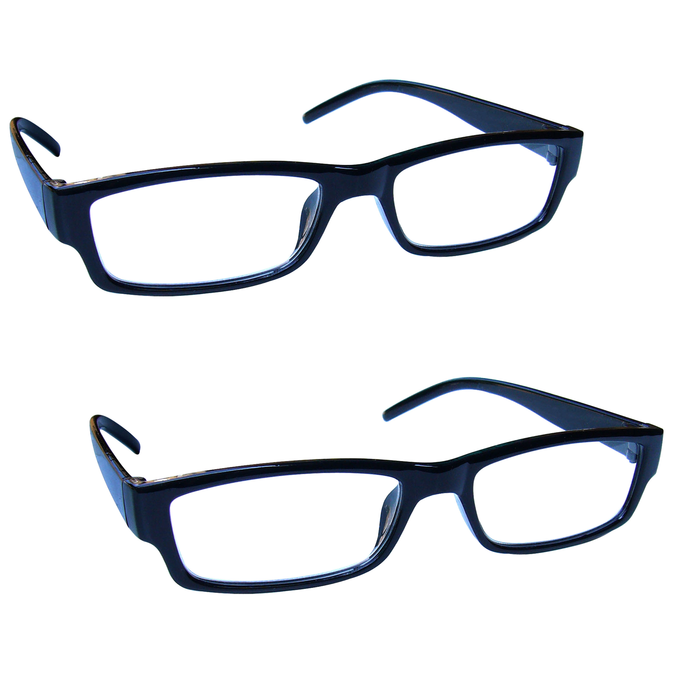 Value-2-Packs-Reading-Glasses-Mens-Womens-Lightweight-UV-Reader-UVR2PK32