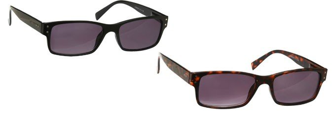UV Sun Reader Black & Brown Tortoiseshell 2 Pack UVSR2PK011_012