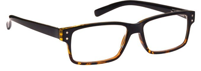 Black Brown Tortoiseshell Reading Glasses Mens Womens UVR045BLKBTT