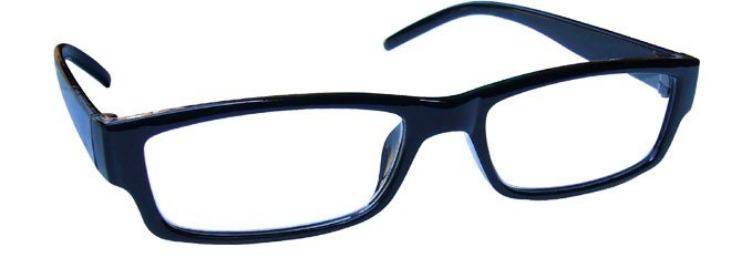 Black Lightweight Comfortable Reading Glasses Mens Womens R32-1