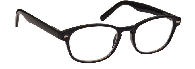 Black Reading Glasses Womens Mens UVR076BLK