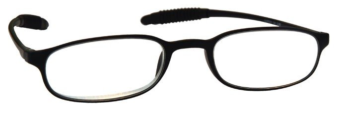 Black Super Lightweight TR 90 Reading Glasses Mens Womens R41-1