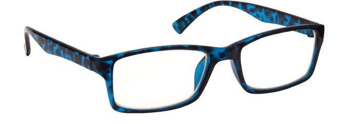 Blue Tortoiseshell Myopia Distance Glasses Mens Womens M92-3