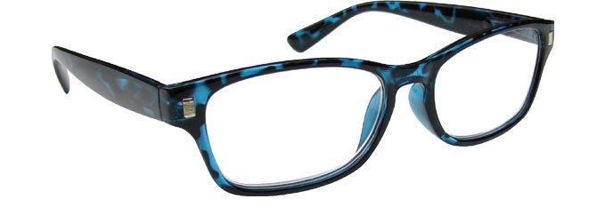 Blue Tortoiseshell Reading Glasses Mens Womens R10-3