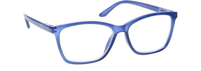 Bright Blue Reading Glasses Large Mens Womens R51-3