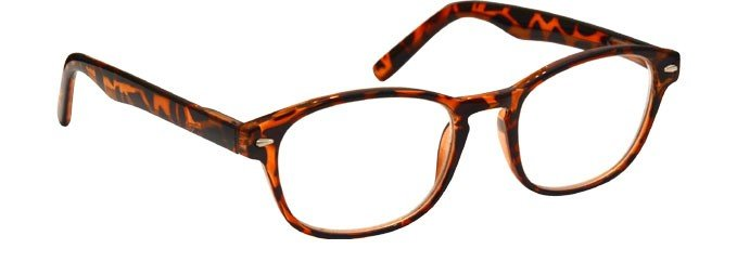 Brown Tortoiseshell Reading Glasses Womens Mens UVR076BTT