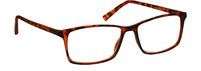 Brown Eco Friendly Rilsan Frames Reading Glasses R43-2