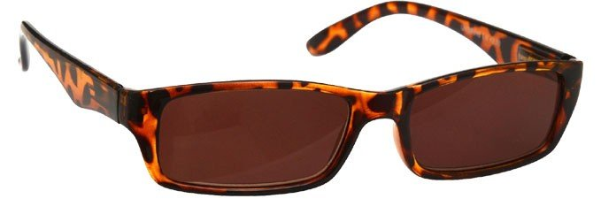 Brown Tortoiseshell Sun Reading Glasses Small UVSR016