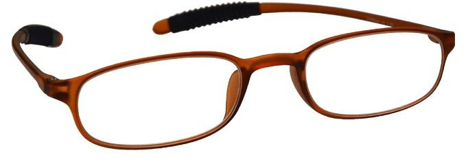 Brown Super Lightweight TR 90 Reading Glasses Mens Womens R41-2