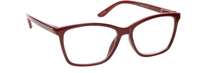 Dark Maroon Red Reading Glasses Large Mens Womens R51-Z
