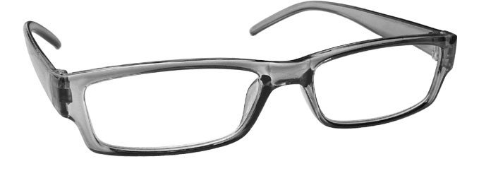 Grey Lightweight Comfortable Reading Glasses Mens Womens R32-7