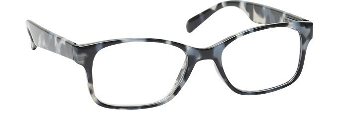 Grey Tortoiseshell Wrap Reading Glasses Mens Womens R71-7