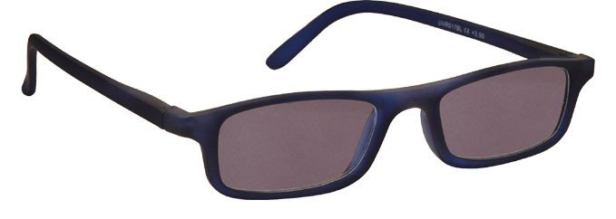 Rubberized Matt Navy Blue Sun Readers UVSR017BL