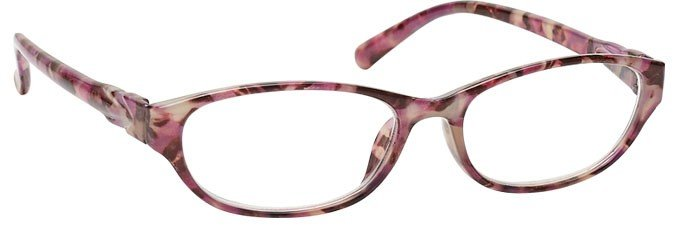 Pink Tortoiseshell Wrap Reading Glasses Womens Ladies R69-4