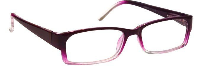 Purple Lightweight Reading Glasses Womens Ladies UVR072PP