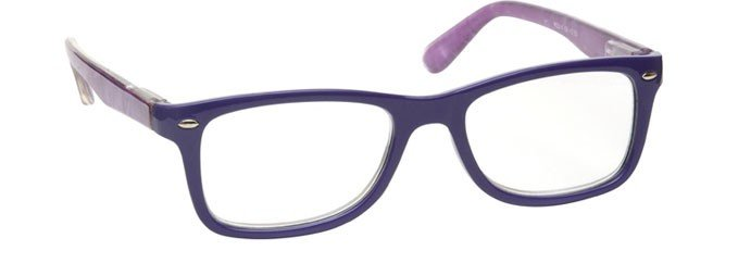Purple With Wrap Sides Reading Glasses Mens Womens R23-5