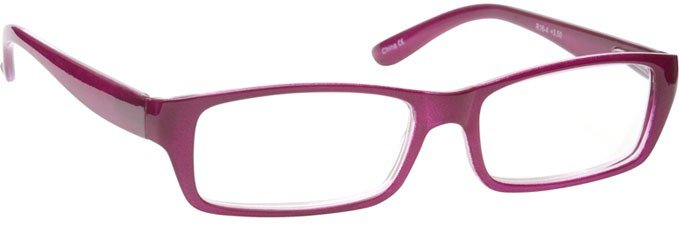 Rich Pink Lightweight Reading Glasses Womens Ladies R16-4