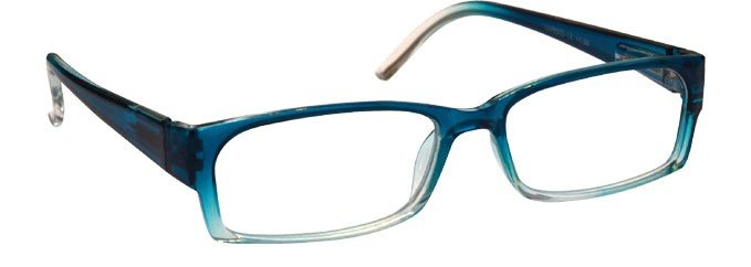 Sea Blue Lightweight Reading Glasses Womens Ladies UVR072BL
