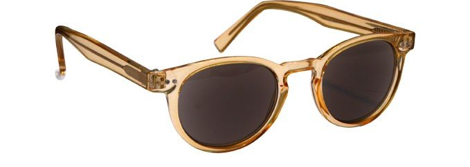Transparent Gold Sunglasses Womens Mens UV400 UVS089